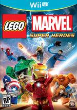 LEGO:MARVEL SUPERHEROES  - Wii U - (Brand New) - $24.25