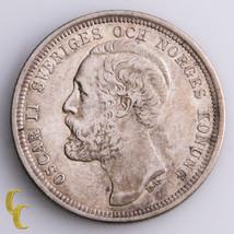 1884-EB Sweden 1 Krona (XF) Extra Fine Condition - $247.50