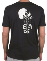 Zero Mens Black Dead On Arrival Skeleton Gun Revolver Skull Short-Sleeve T-Shirt