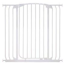 Dreambaby Chelsea Extra Tall and Wide Auto Close Security Gate in White image 2