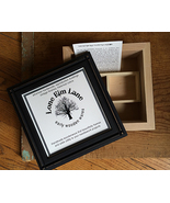 "Black Iron Queen Crown 8"" Square Box cross stitch needlepoint Lone Elm Lane - $155.00"