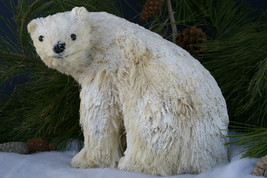 POTTERY BARN WOODLAND POLAR BEAR –NIB– GET YOUR PAWS ON THIS WINTER  SNO... - $32.47