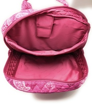 Vera Bradley Laptop Backpack - Stamped Paisley - NWT - $108 MSRP! image 3