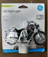 New Little kids Motorcycle  night light General Electric LED long lasting - $10.77