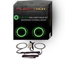 FLASHTECH for Pontiac G6 06-10 Green External Mount Waterproof LED Halo ... - $97.02