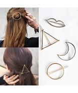 UNIQU® Fashion Women Hair Accessories Triangle Hair Clip Girls Hairpins ... - $2.87+