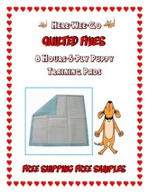 SUPER ABSORBENT Quilted Puppy Pee Training Pads Dogs up to 80lbs Asst'd ... - $41.50+