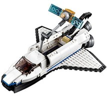 LEGO Set Space Shuttle Building Kit 285 Pcs Toys Boys 3-in-1 Birthday Xm... - $46.79