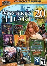 Mystery Masters MYSTERIES OF THE HEART COLLECTION 20 GAMES IN ALL Hidden... - $20.13