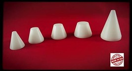 """Delrin Folding Cone Set 1/4"""", 1/2"""", 5/8"""", 3/4"""" with Large Derlin Folding... - $51.55"""
