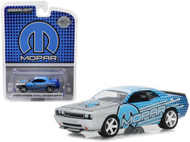 "2009 Dodge Challenger SRT8 MOPAR Edition Silver and Blue ""Hobby Exclusi... - $13.18"