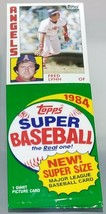LARGE 1984 Topps Super Size MLB Baseball Picture Card Pack - Fred Lynn - $4.94