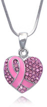 cocojewelry Boxing Glove Heart Pink Ribbon Fight Against Breast Cancer P... - $34.75