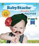BabyStache Kissable Baby Pacifier ROMEO Black Child Infant Shower Gift - $8.99