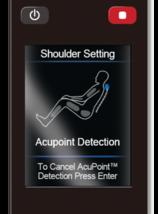 Human Touch Espresso Brown Bali Massage Chair Recliner w Arm Calf + Foot Massage image 9