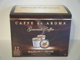 Caffe de Aroma Hazelnut flavored 12 Single Serve K-Cups OK for 2.0 - $10.45