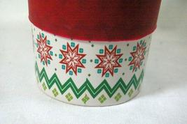 California Pantry Green Reindeer Christmas Travel Mug With Red Silicone Lid/Grip image 3