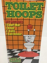 Toilet Hoops Basketball Pass Time Game Toy Gag Gift Ages 3+ image 3