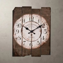 Country Style Vintage Wall Clock Home Decor Design Antique Living Room D... - $34.33
