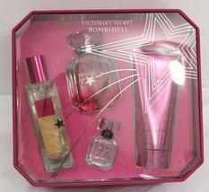 Victoria's Secret BOMBSHELL Eau De Parfum, Oil, Wash, Luxury Fragrance Gift Set  image 2