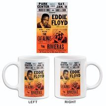 Eddie Floyd - The Catalinas - Charlotte NC - 1969 - Concert Poster Mug - $23.99+