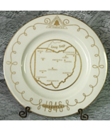 Vintage Telephone Pioneers of America 1946 Collector's Plate - Grace Chi... - $12.00