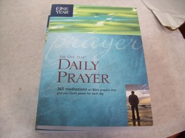 The One Year Daily Prayer 365 Meditations on Bible Prayers - $8.90