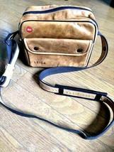 Leica leather bag Genuine leather camera bag  rare - $200.00