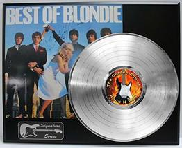 Blondie LP Record Reproduction Signature Series  Display - $145.95