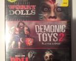 Dangerous Horror Dolls/Demonic Toys 2/Doll Graveyard (DVD, 2011, 2-Disc Set)