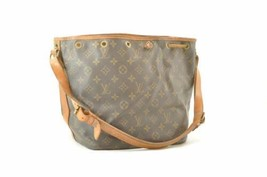 LOUIS VUITTON Monogram Petit Noe Old Model Shoulder Bag M42226 LV Auth a... - $230.00
