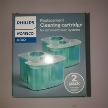 Philips Norelco JC302/52 SmartClean Replacement Cartridge, 2 pack New In Box - $14.36