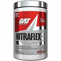 GAT Sport Nitraflex + C Creatine Preworkout - 30 Servings (Cherry Limeade) - $51.52