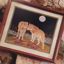 Out of the Mist Wolves Cross Stitch Leaflet Book Color Charts 1992 Woods 30501 - $11.99