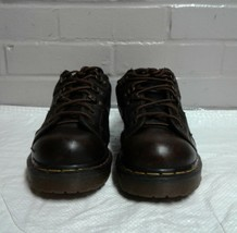 Men's Dr Martens Size 7 Air Cushion Sole Oil And Slip Resistant Work Boots - $22.42