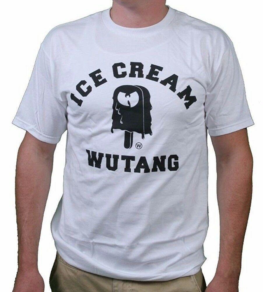 Wu Tang Glace Crème T-Shirt Raekwon Ghostface Killah Method Man 12WU0708