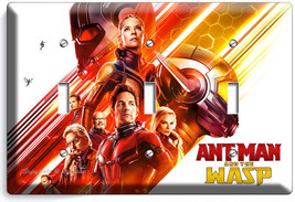 Ant Man And The Wasp Nano Superhero 3 Gang Light Switch Wall Plate Room Hd Decor - $16.19