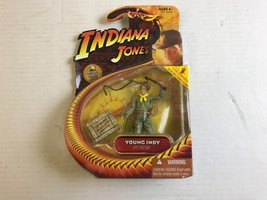 HASBRO INDIANA JONES YOUNG INDY LAST CRUSADE ACTION FIGURE 2008 NIB     ... - $17.42