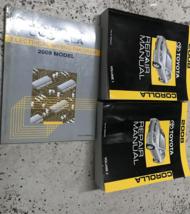 2008 TOYOTA COROLLA Service Repair Workshop Shop Manual Set W EWD OEM - $277.48