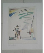 "Alfred Gockel ""Don Quichotte"" Abstract Art Print 15.5 x 11  - $20.00"