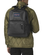JanSport Hyperbreak Backpack -Deep Grey/Black Matte Coated 600D JS0A3P69... - $28.32