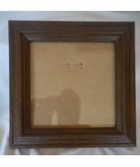 "5"" x 5"" Dark Brown Oak Solid Wood Frame w/Glass - $13.86"