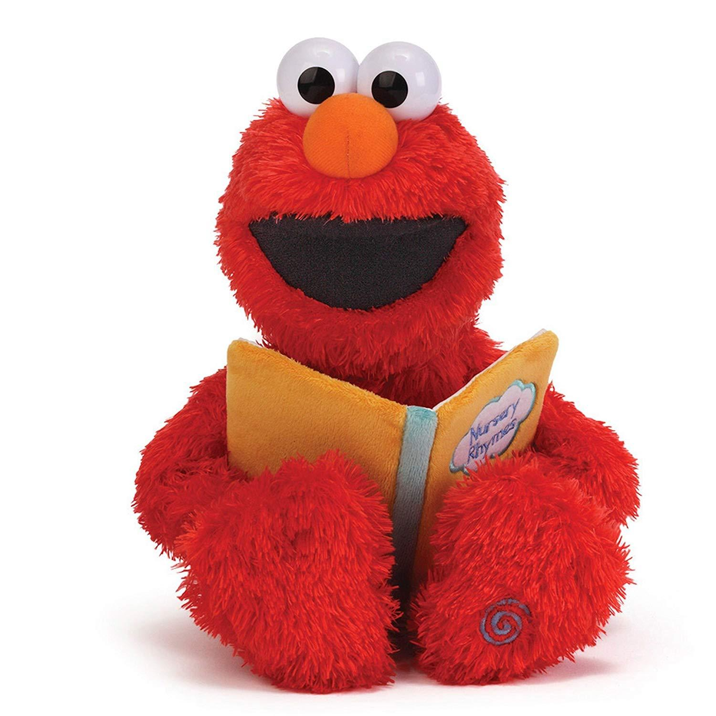 Image 0 of Sesame Street Nursery Rhyme Elmo 15-Inch Plush, Gund