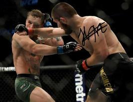 * Khabib Nurmagomedov Signed Photo 8X10 Rp Autographed Vs Conor Mcgregor Ufc - $19.99