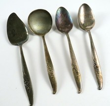 Lot of 4 Pieces Oneida Nobility Magic Moment Silverplate Serving Utensils - $31.67