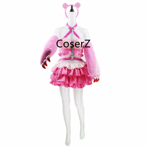 Anime Super Sonic Pink Cosplay Costume Halloween Costume - $85.00