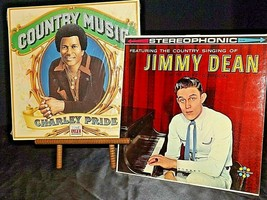Country music Charley Pride and The Country singing of Jimmy Dean with
