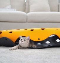 Cat Tunnel Folding Cat, Channel Rolling Chinchilla Nest - $44.99