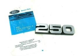 Ford 250 Emblem Name Plate E9UZ-2525622-A NOS Original OEM Part Econoline - $29.39