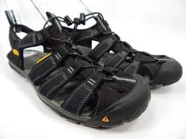 Keen Clearwater CNX Sport Sandals Men's Size 9 M EU 42 Black / Gargoyle